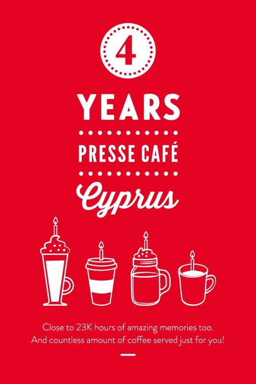 Presse Café Cyprus is turning 4!